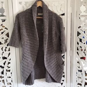 Anthropologie knitted wool mohair Cardigan